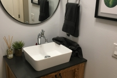 Bathroom Remodel Custom Vanity